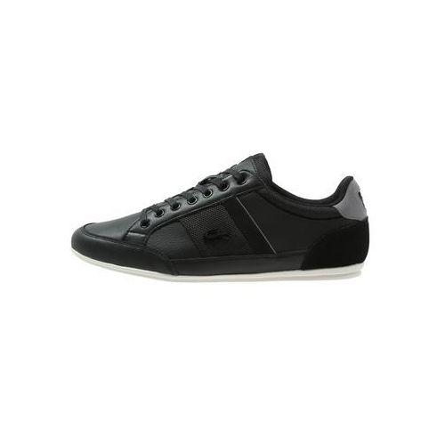 Lacoste CHAYMON Tenisówki i Trampki black/dark grey (5021725479518)