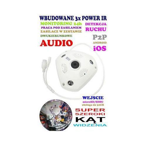 Mini-Kamera WiFi/P2P HD (zasięg cały świat!) + Super Szeroki Kąt Widzenia + Zapis...