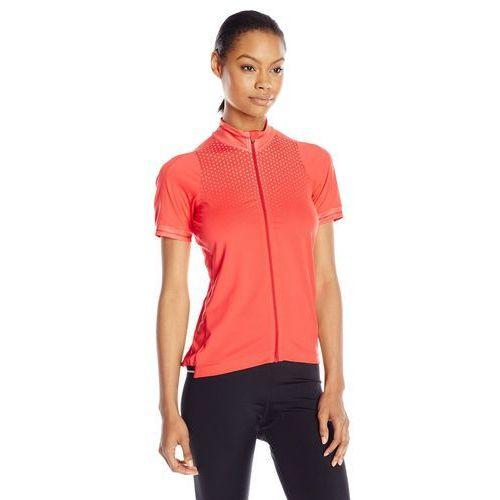 glow damska koszulka rowerowa 1903265-2825 (fluorowy pomarańczowy) marki Craft