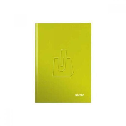 Brulion Leitz Wow A5 80 kratka twarda oprawa zielony 46281064 (4002432399642)