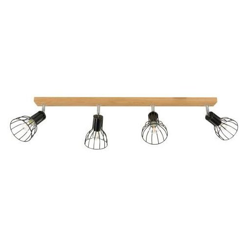 Megan Wood Sufitowa Spot-Light 2344474 Drewno Dębowe/Metal (5901602358245)