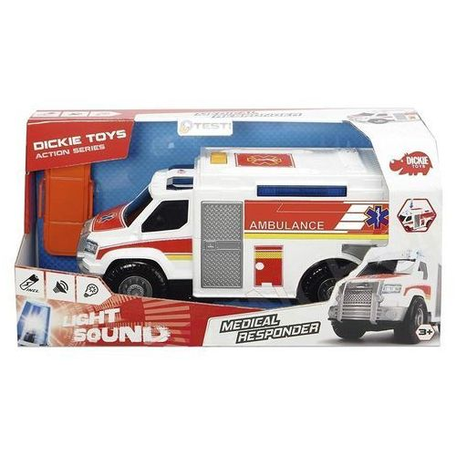 Auto Ambulans biały 30cm