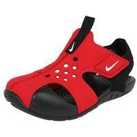 Nike Sportswear Buty na plażę/do kąpieli 'Sunray Protect 2 TD' czerwony / czarny (0888408955371)