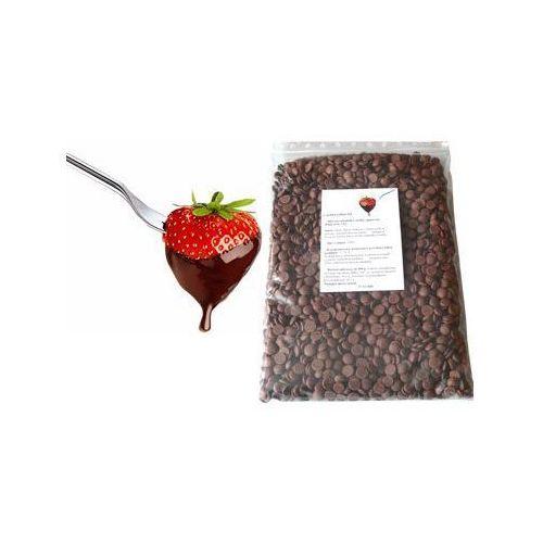 Czekolada cappuccino belgijska do fondue oraz fontann | 1 kg