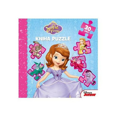 Sofie První - Kníha puzzle 30 dílků (9788025238585)