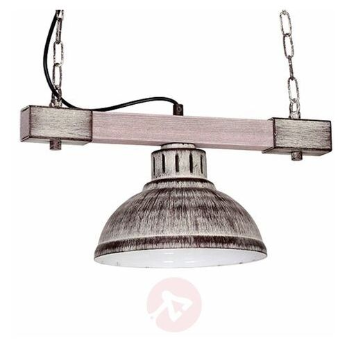 Lampa wisząca HAKON 1xE27/60W/230V szara (5907565990607)