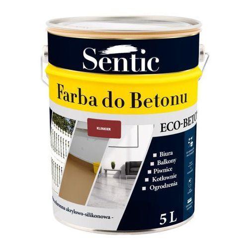 Sentic Farba do betonu klinkier 5 l