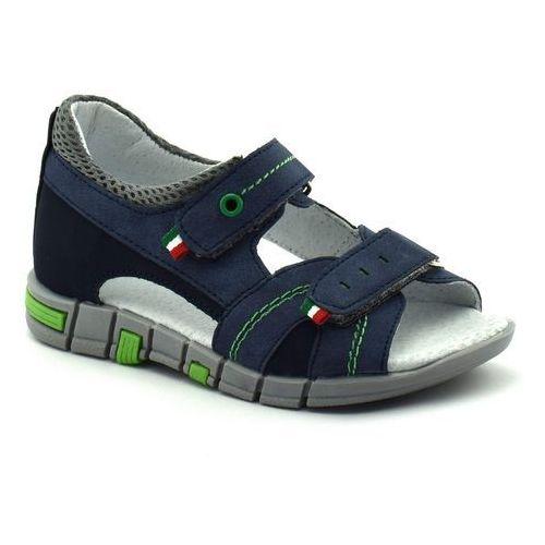 Sandały dla dzieci Kornecki 06337 Granatowe