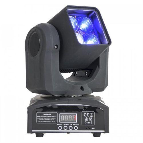 LMH410 Movinghead ruchoma głowa 4 x 4-w-1 LED RGBW10W zoom DMX LED