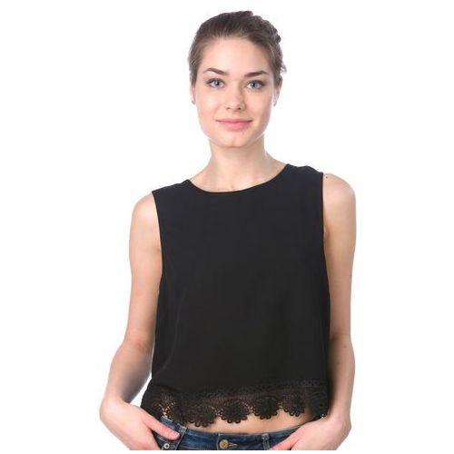 Brave Soul koszulka bez rękawów damska Napplpka M czarny, kolor czarny