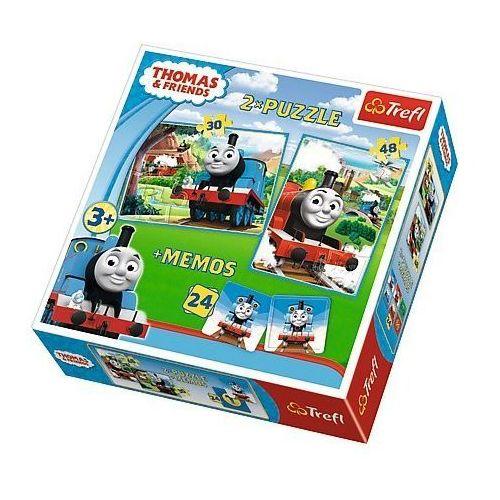 Puzzle 2w1+ memos - Tomek i przyjaciele TREFL (5900511906028)