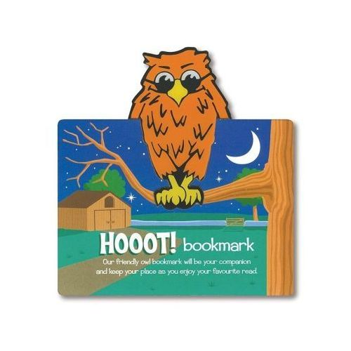 Zwierzęca zakładka do książki - Hoot! - Sowa (5038886003155)