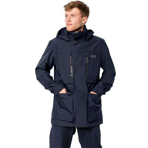 Jack wolfskin Kurtka męska bridgeport jacket night blue - l (4055001752881)