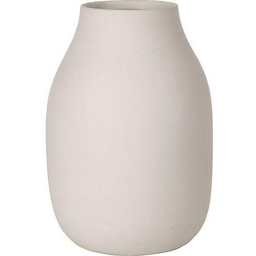 Blomus Wazon porcelanowy colora moonbeam jasnoszary (b65705) (4008832657054)