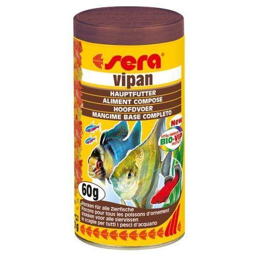 Sera vipan - pokarm podstawowy - różne objętości