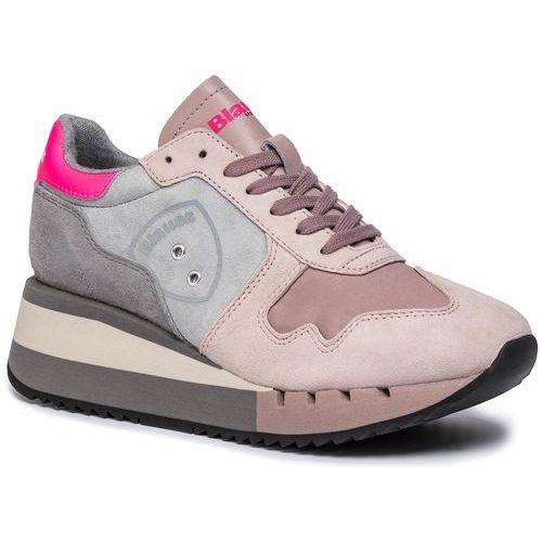 Sneakersy - 9fcharlotte01/flu nude, Blauer