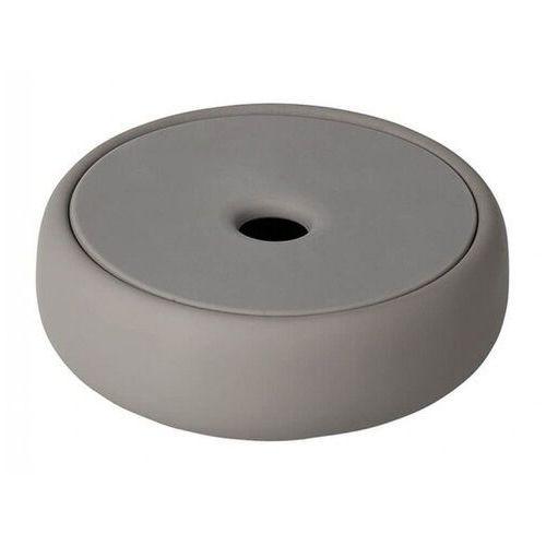 Blomus Pojemnik łazienkowy z silikonowym wieczkiem sono taupe (b69049)