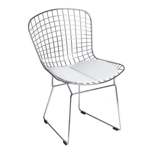 Krzesło Harry inspirowane Diamond Chair - biały, 64603