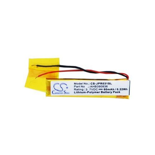 Jabra Sport Stereo / AHB390836 60mAh 0.22Wh Li-Polymer 3.7V (Cameron Sino)