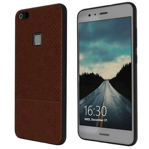 Kltrade Etui qult back case drop do huawei p10 lite brązowy (5901386713261)