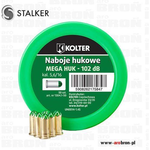 Amunicja hukowa bocznego zapłonu 5,6/16 mm GREEN long do pistoletu STALKER oraz Zoraki K6L 50szt.