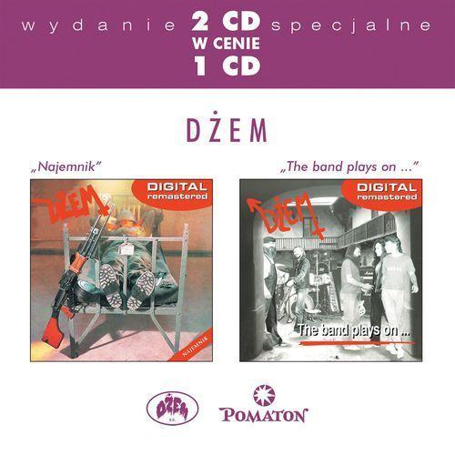 DŻEM - NAJEMNIK/THE BAND PLAYS ON... - Album 2 płytowy (CD)