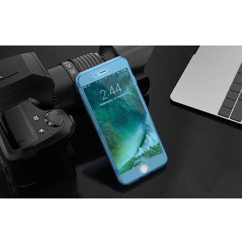 Oficjalna dystrybucja Kisscase przeźroczyste etui silikonowe dla iphone 7 i 8 (niebieskie) - niebieski \ iphone 7 i 8