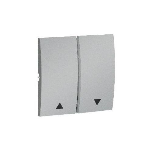 Kontakt Simon CLASSIC Klawisz do przycisku żaluzjowego - kpl. aluminium (met.) - MKZ1/26 z kategorii pozostała elektryka