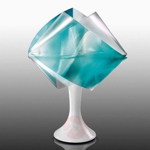 Slamp gemmy prisma color lampa stołowa emeraldowy, 1-punktowy - nowoczesny - obszar wewnętrzny - color - czas dostawy: od 8-12 dni roboczych