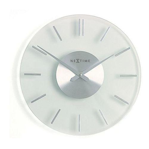 Zegar ścienny Stripe Nextime 31 cm (2632) (8717545051689)