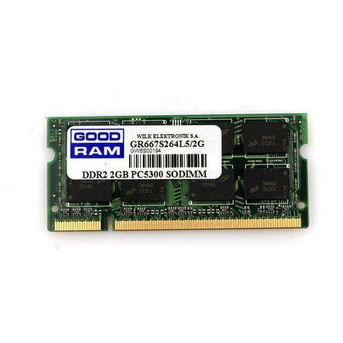 GOODRAM 2GB [1x2GB 667MHz DDR2 CL5 SODIMM]