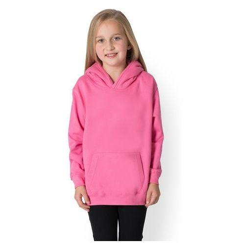 Dziecięca bluza (bez nadruku, gładka) - różowa, kolor różowy