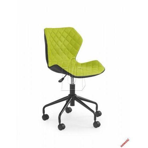 Fotel młodzieżowy  matrix zielony – dostawa gratis 24h marki Halmar