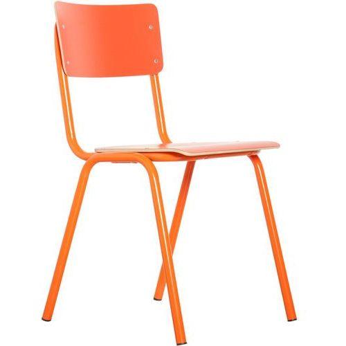 Zuiver krzesło back to school hpl pomarańczowe 1008204 (8718548003651)
