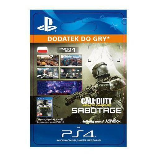 Sony Call of duty: infinite warfare - sabotage dlc [kod aktywacyjny]