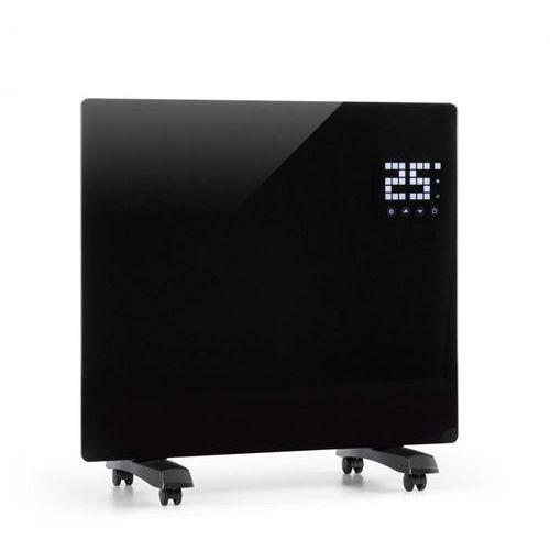 Klarstein bornholm single grzejnik konwekcyjny termostat timer 1000w czarny (4260509685849)