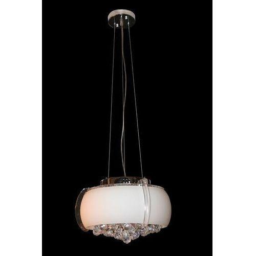 Lampa wisząca rock biała, matowa, 1025 whm marki Sinus