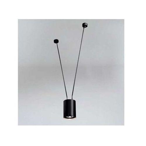 LAMPA wisząca VIWIN 9020/GU10/CZ Shilo tuba OPRAWA metalowy zwis czarna, 9020/GU10/CZ