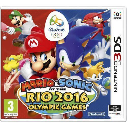 gra 3ds mario & sonic in rio 2016 marki Nintendo
