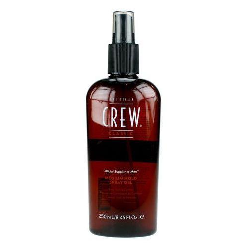 American crew classic medium hold spray gel - żel średnio utrwalający 250ml
