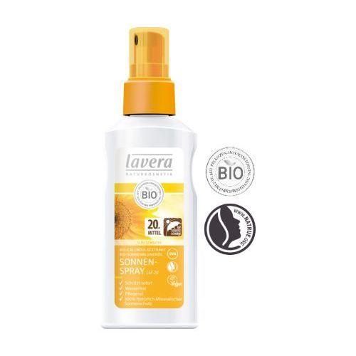 Lavera Spray do opalania spf 20 z bio-nagietkiem i olejem słonecznikowym 125ml  (4021457615384)