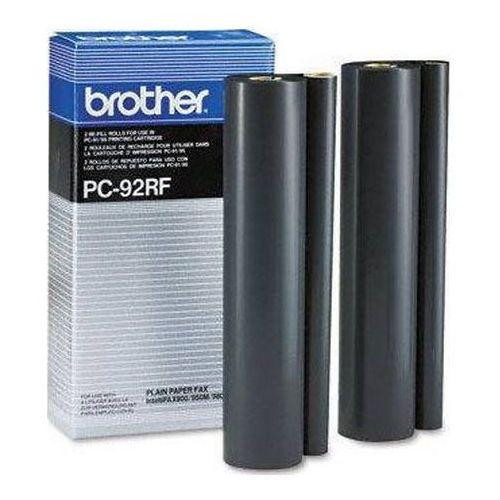 Wyprzedaż oryginał folia do faksu pc-92rf do fax-1000p, intellifax 900/950/980/1500m, 2*500 stron marki Brother