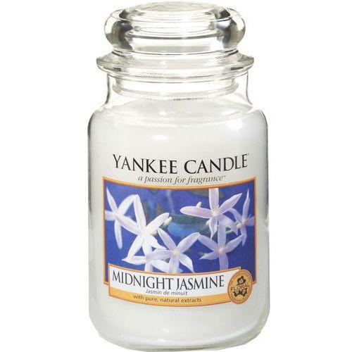 Yankee candle midnight jasmine aromatyczna świeca zapachowa słoik duży 623 g (5038580000450)