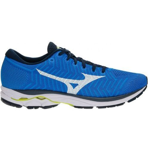 Mizuno Wave rider knit r1 blue white
