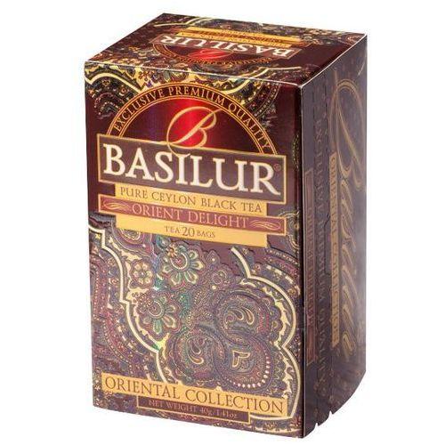 BASILUR 70420 20x2g Orient Delight Herbata czarna kopertowana | DARMOWA DOSTAWA OD 150 ZŁ! - sprawdź w wybranym sklepie