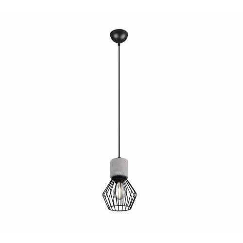 Trio jamiro 309200132 lampa wisząca zwis 1x40w e27 czarna/szara