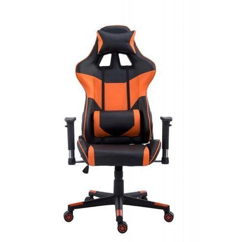 Import Fotel gamingowy (styl sportowy fotel samochodowy) wybierz kolor: biały, pomarańczowy, czerwony, niebieski pomarańczowy