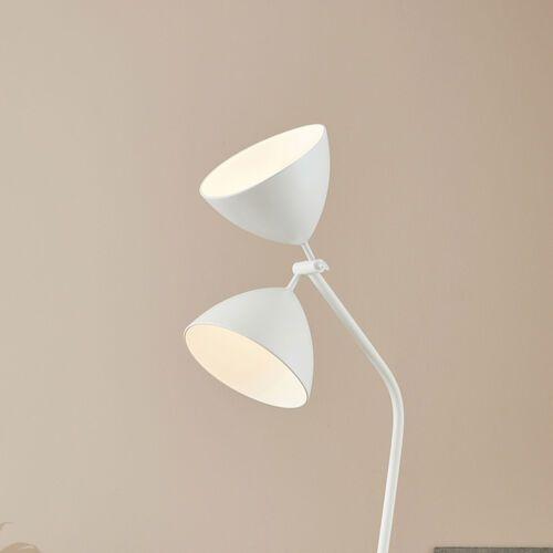 dagmar 107769 lampa podłogowa 2x20w e27 biały - negocjuj cenę marki Markslojd