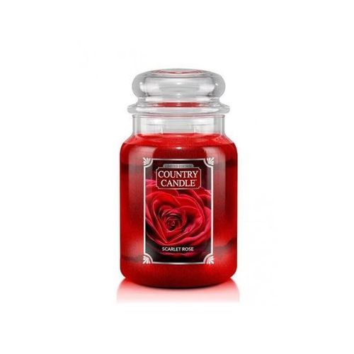 COUNTRY CANDLE ŚWIECA SCARLET ROSE 680G, 846853064994