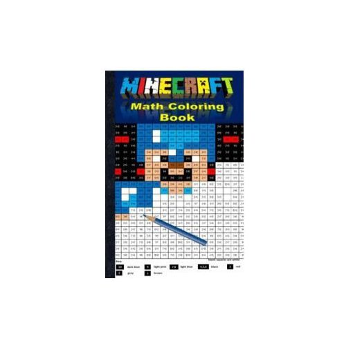 Minecraft Math Coloring Book